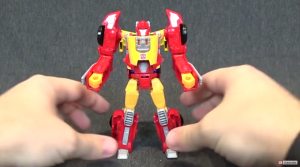 Titans Return Wave 3 Autobot Hot Rod video review