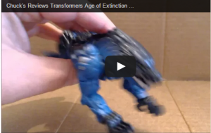 Transformers News: Transformers Age of Extinction One Step Steeljaw Review