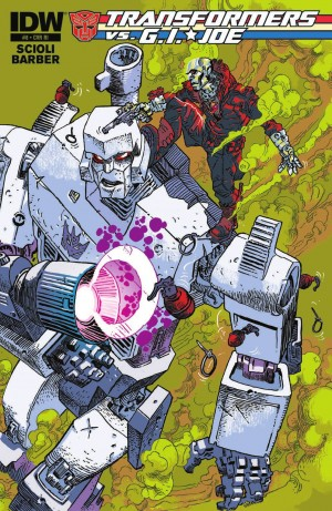 Transformers News: IDW Transformers Vs. GI JOE #8 Review
