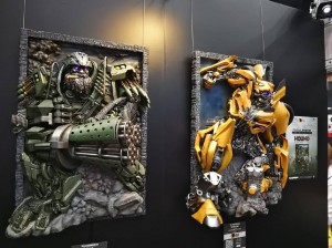 More Transformers: The Last Knight Wall Statues by Superfans Group