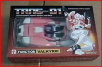 Transformers News: Youtube Video of ImpossibleToys TRNS-01 - Valkyrie (aka Arcee).  Paradron Medic is Coming Next!