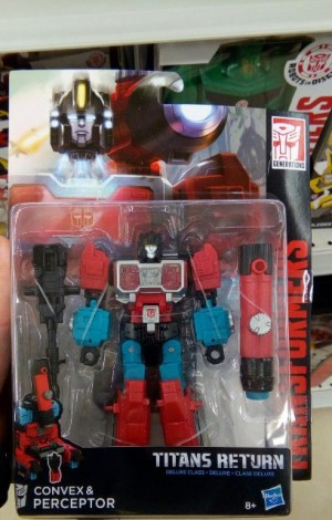 Transformers Titans Return Perceptor,  Quake, and Topspin found at Russian Retail