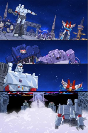 Transformers News: New IDW Transformers x Ghostbusters Teaser Page - Megatron Meets Gozer
