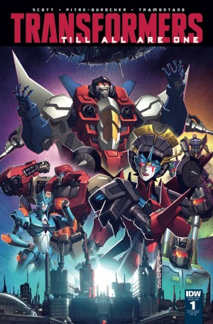 Transformers News: IDW Transformers: Till All Are One #1 Incentive Cover by Alex Milne and Josh Perez