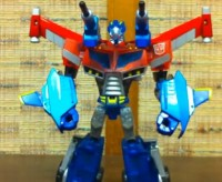 Video Review of Transformers Animated Wingblade Optimus Prime