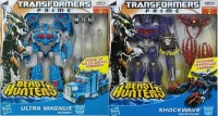 Transformers News: Beast Hunters Shockwave And Ultra Magnus In Package Pics, With Bios