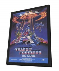 Transformers: The Movie Framed Movie Poster