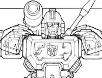 IDW's All Hail Megatron Coda Cover Lineart-- Issue #15