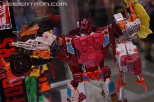 Transformers News: SDCC 2016: Preview Night Combiner Wars Display with Computron, G2 Bruticus, Victorion and more #HasbroSDCC