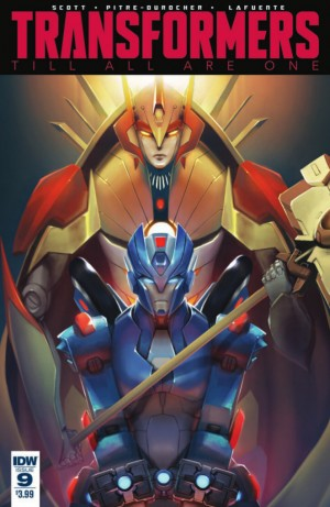 Transformers News: Full Preview for IDW Transformers: Till All Are One #9