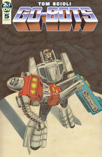 Transformers News: IDW Go-Bots #5 Preview