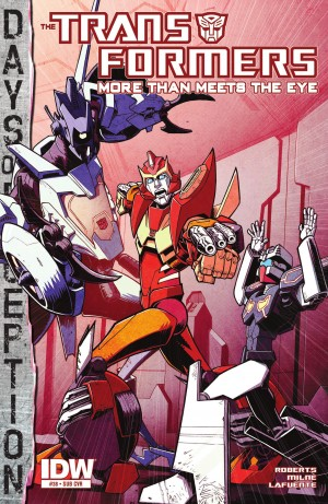 Transformers News: IDW Transformers: More Than Meets the Eye #38 Review