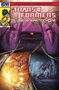 Transformers News: Transformers: Regeneraion One #89 Script Wrap and Preview Panel