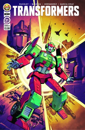 Five Page Preview of IDW Transformers #31