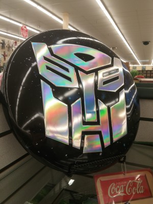 Transformers News: More Transformers Themed Decor Found at  Hobby Lobby