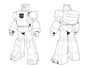 Transformers: Devastation Bumblebee Concept Art