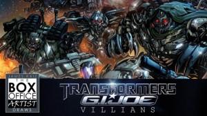 James Raiz Transformers / G.I. Joe TFcon Villains Print WIP Video