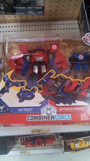 Transformers: Robots in Disguise Activators Optimus Prime and Hi-Test found at US retail