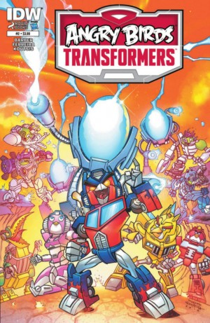 IDW Angry Birds Transformers #2 Full Preview