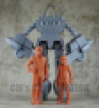 Transformers News: CM's Corp Excel Suit Spike and Daniel Guttu Kuru Figures Teaser Image, Prototype to be Displayed at Wonder Festival