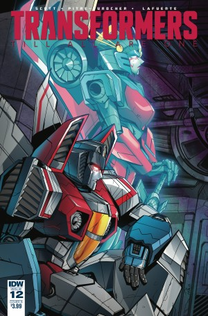 Variant Cover for IDW Transformers: Till All Are One #12 by Priscilla Tramontano