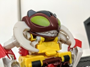 Transformers News: Transformers Cyberverse One Step Repugnus Spotted with In Hand Images