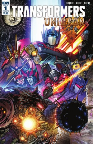 Transformers News: Full Preview for IDW Transformers Unicron #1