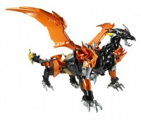 "Transformers News: Video Review: Transformers Prime ""Beast Hunters"" Voyager Class Predaking"