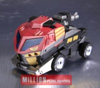 Transformers News: Toy Images of Million Publishing Exclusive Animated Optimus Prime Elite Guard Version