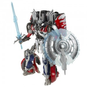 Transformers News: New Official Images: Transformers: Age of Extinction Platinum Edition Silver Knight Optimus Prime