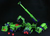 Transformers News: New TFC Toys Neck Breaker and Mad Blender Images