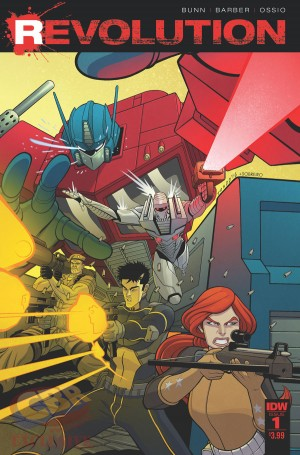 IDW Hasbro Comics Crossover: Revolution - Chris Ryall, Christos Gage on ROM, MASK, Transformers