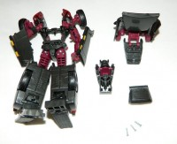 Transformers News: BotCon 2013 Machine Wars Hoist Chest Fix