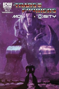 Transformers News: Transformers: Monstrosity #11 Cover Art Revealed