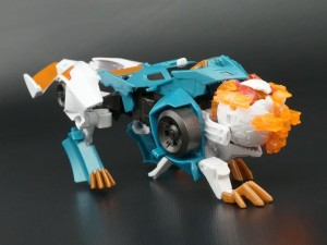 Transformers News: New Galleries: Robots In Disguise Deployer Crazybolt with Mini-Con Hammer