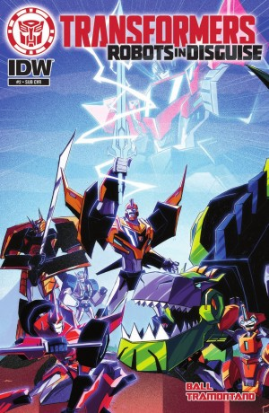 IDW Transformers: Robots in Disguise #2 Review