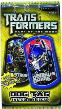 Transformers News: Transformers DOTM Collectible Dog Tag Packs
