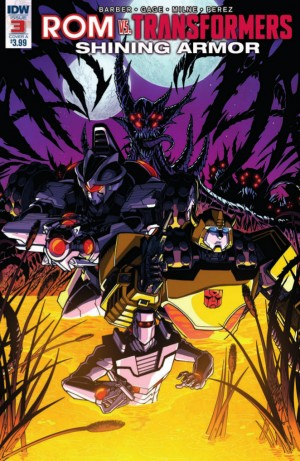 Transformers News: Full Preview for IDW Rom Vs. Transformers: Shining Armor #3