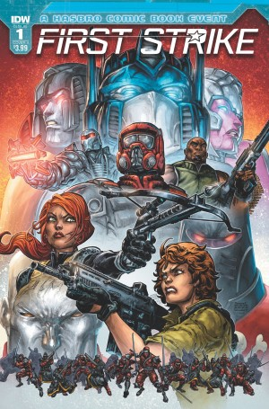 Transformers News: IDW First Strike - The Plot to Destroy All Transformers Has Begun