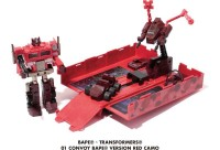 Transformers News: New A Bathing Ape Announces a 3rd  G1 Convoy Exclusive Redeco