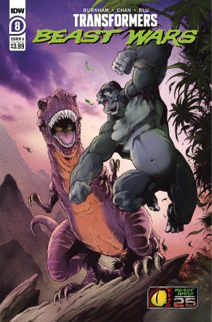 Five Page Preview of IDW Beast Wars #8