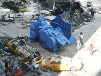 Transformers News: New Transformers 3 Set Photo- CGI Model Place Holder
