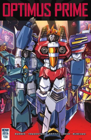 Transformers News: Full Preview for IDW Transformers Optimus Prime Annual 2018 - Thundercracker in Starscream: The Movie