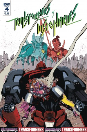 Transformers News: Mini-Review of IDW Transformers vs Visionaries #4
