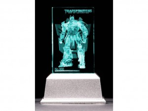 Transformers News: Lexact  Age of Extinction Premium Crystal Optimus Prime and Bumblebee