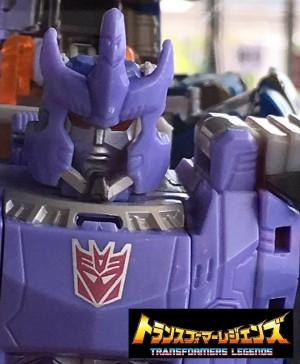 TakaraTomy Transformers Legends- LG-21 Hardhead, LG-22 Skull, & LG-23 Galvatron On Display
