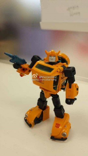 Transformers News: In-Hand Images - Takara Tomy Transformers Masterpiece MP-21 Bumblebee