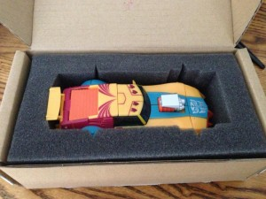 Transformers News: TFSS Circuit Hitting Mailboxes