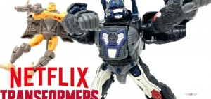 New Video Review of Netflix Transformers War for Cybertron Voyager Class Optimus Primal and Rattrap