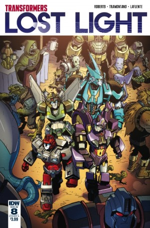 IDW Transformers: Lost Light #8 3-Page iTunes preview